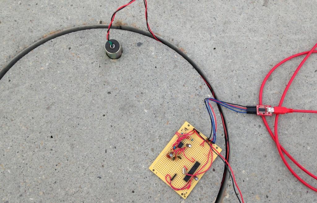 The seisMeowmeter setup