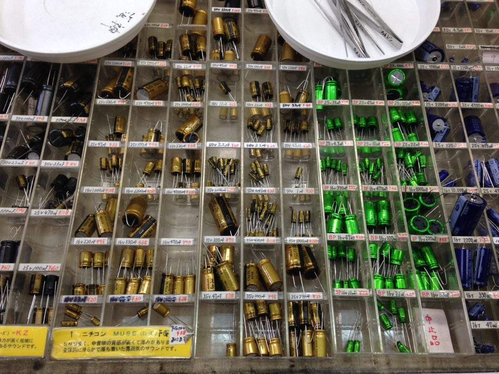 More Capacitors!